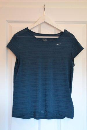 Nike Maglietta sport blu cadetto-petrolio