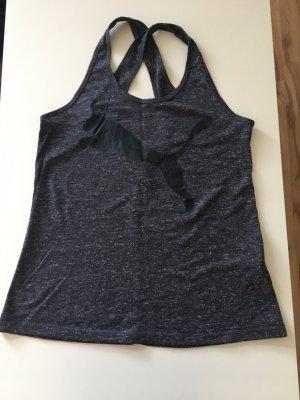 Puma Maglietta sport grigio scuro
