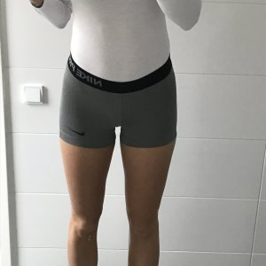 Sportshorts kurze Tights Nikepro grau