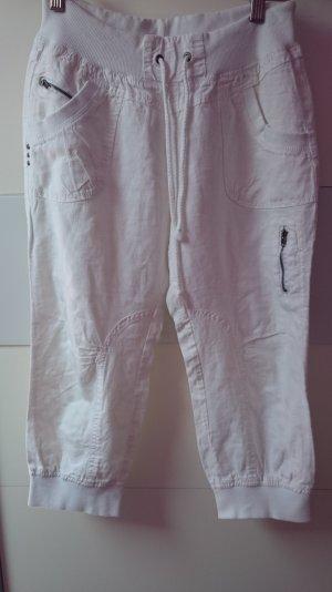 Sportswear 3/4 Hose Weiß Gr 36