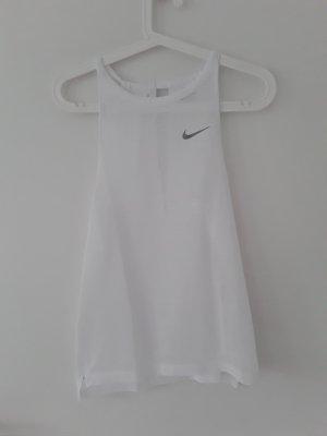Nike Sporttop wit-zilver