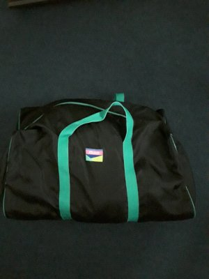 Sporttas zwart-groen