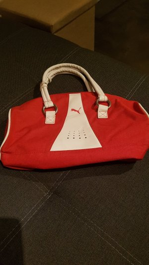 Puma Bolsa de gimnasio rojo