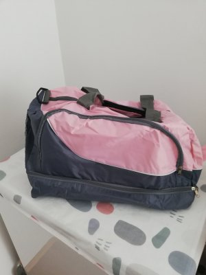 Sports Bag grey-light pink