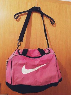 Nike Sac de sport rose-blanc