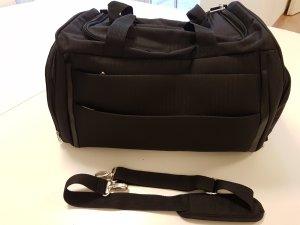 Sporttasche Reisetasche Weekender schwarz Verschließbar