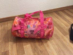 Anna Sui Borsa sport arancione-rosa