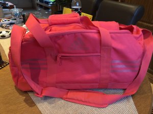 Adidas Sports Bag raspberry-red-bordeaux