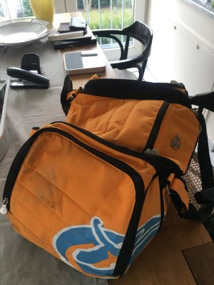 Chiemsee Borsa sport arancione