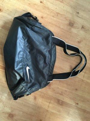 Nike Sac de sport noir-blanc tissu mixte