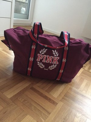 Pink Victoria's Secret Sports Bag dark blue-purple