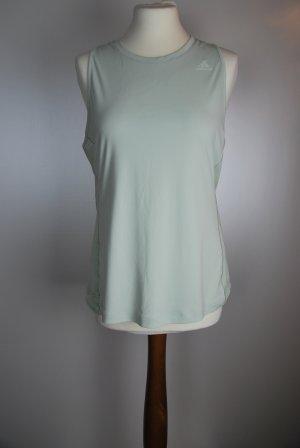 Adidas Sporttop grijs-groen Polyester