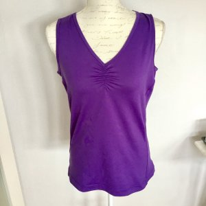 Sporttop Fitnesstop violett
