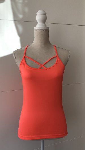 Sporttop neonrood