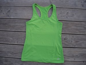 H&M Sporttop neon groen Polyester