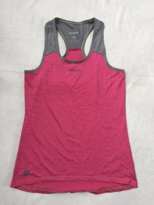Sporttop in Pink und Grau