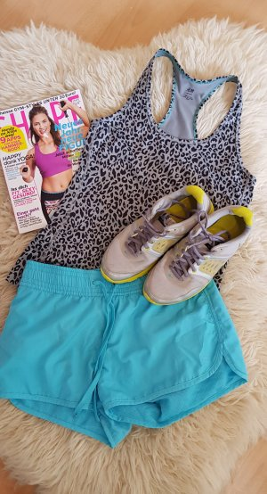 sporttop mit Animal print running joggen fitness sport