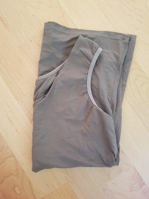 Sporttop taupe-grijs-bruin