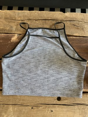 Nike Sporttop grijs-zwart