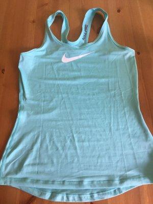 Nike Sporttop babyblauw-wit