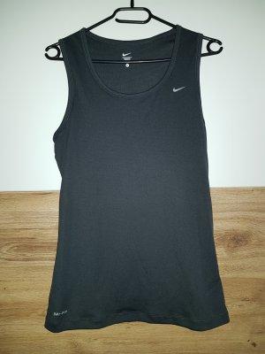 Nike Débardeur de sport gris foncé-gris anthracite