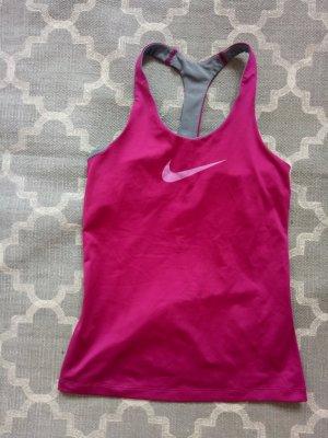 Sporttop Nike Dryfit Innenbra Top Sport Top Shirt Magenta Pink Rosa M 38