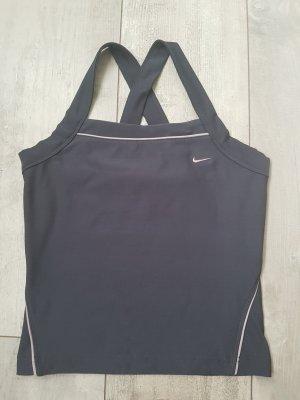 Nike Sporttop donkergrijs-mauve