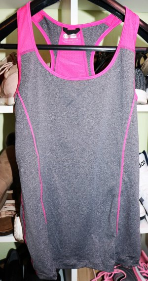 Sporttop Pink/grau sehr bequem