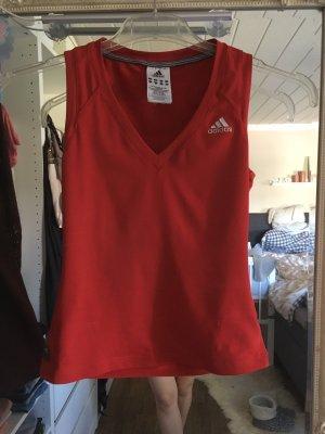 Sporttop von Adidas in rot Größe XS