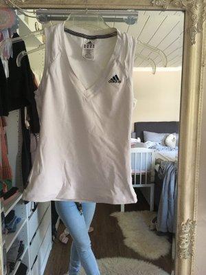 Sporttop von Adidas in weiß Größe 34