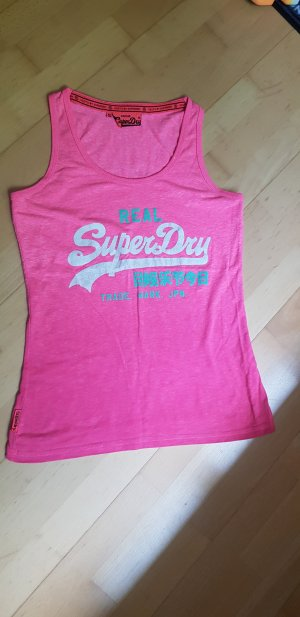 Superdry Sporttop neonroos