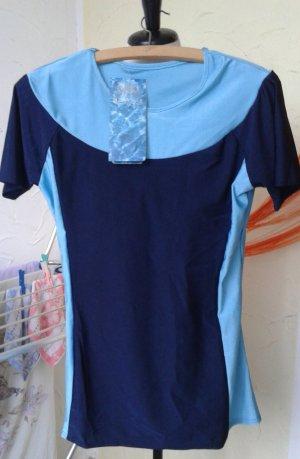 Leisure suit light blue-dark blue