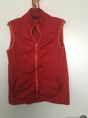 Fleece Vest brick red
