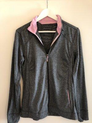 H&M Sport Gilet de sport gris-rose clair