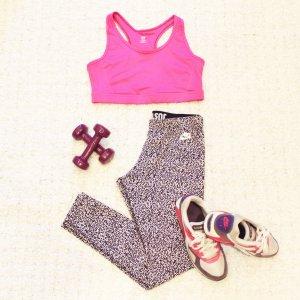 Sporty Pink   Sport-Bh in knalligem Pink