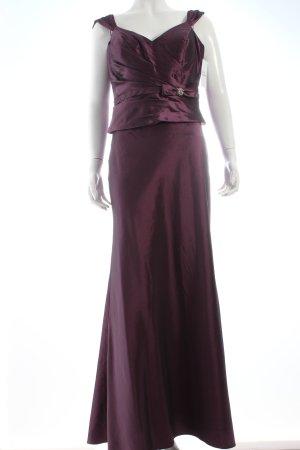 Sposa Toscana Vestido corsage violeta elegante