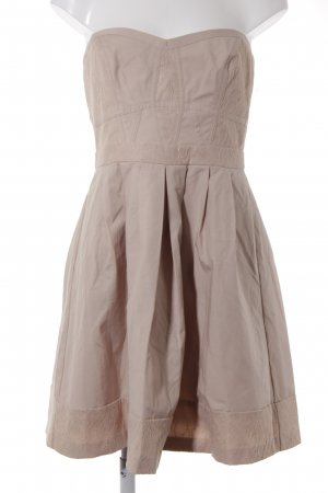 Spotlight by Warehouse A-Linien Kleid nude florales Muster Elegant