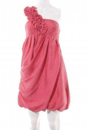 Spotlight by Warehouse Abito a palloncino rosso lampone-magenta stile romantico