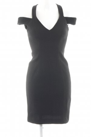 Spotlight by Warehouse Cut-Out-Kleid schwarz grafisches Muster Elegant