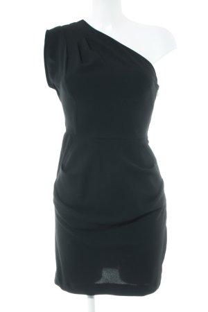 Spotlight by Warehouse One-Shoulder-Kleid schwarz Elegant