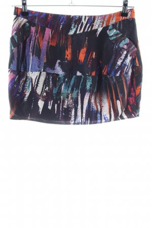 Spotlight by Warehouse Silk Skirt abstract pattern casual look
