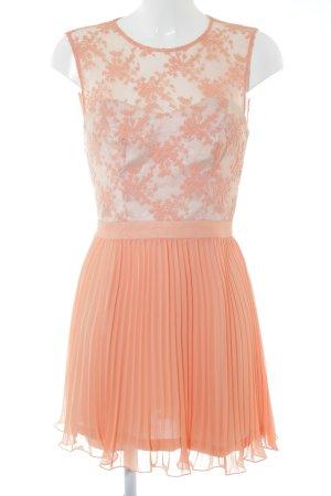 Spotlight by Warehouse Spitzenkleid apricot florales Muster Elegant