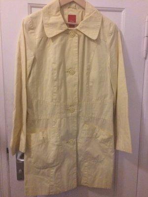 Spring coat, zitronengelb