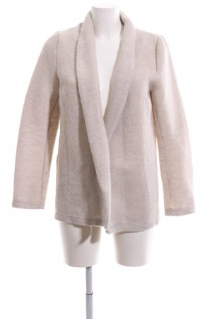 Springfield Cardigan creme meliert Casual-Look