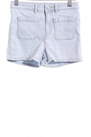 Springfield Hot Pants hellblau Casual-Look