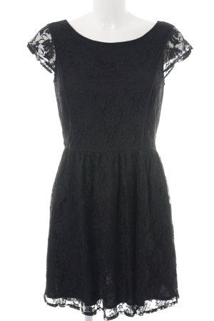 Springfield Spitzenkleid schwarz Elegant