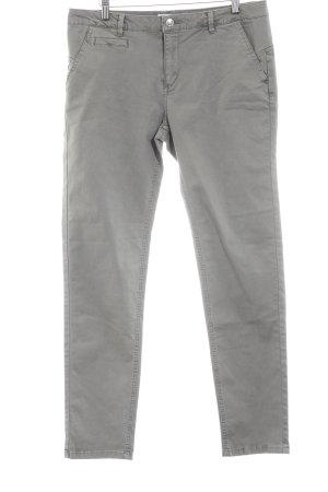 Springfield Straight-Leg Jeans graubraun schlichter Stil