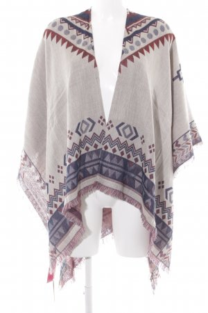Springfield Strickponcho Mustermix Casual-Look