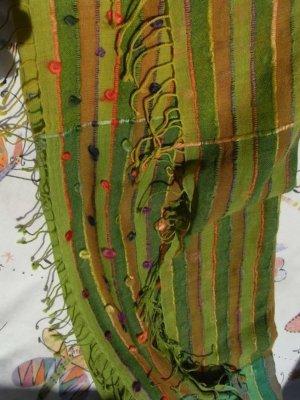Pashmina multicolore coton