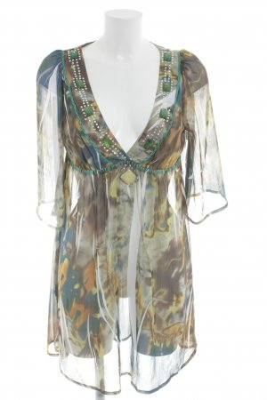 SPY exchange Tunic Dress abstract pattern casual look